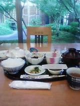 朝食(日本料理萌木)