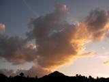 秋の夕空(午後4時52分)