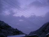 午前6時44分の東の空
