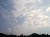 午後4時21分の南の空