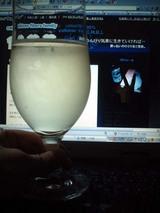 ひとりで乾杯