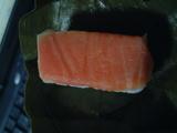 柿の葉寿司「鮭」