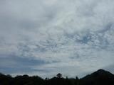 午後1時4分の南の空