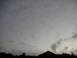 午後5時32分の南の空