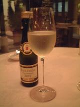 スパーリングワイン(いつも飲んでるものだった)