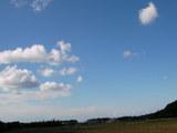 午後の空(近所で)