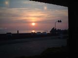 越前海岸の夕日