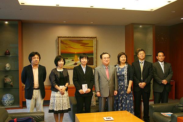 SO 茨城 表敬訪問  橋本昌茨城県知事に表敬訪問をしてきました。 ナショナルゲーム熊本に引き.