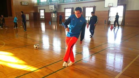 サッカーコーチクリニック午後_9677