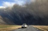 アイスランド噴火