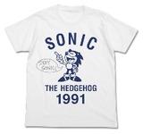 ソニック1991-1whtTシャツ