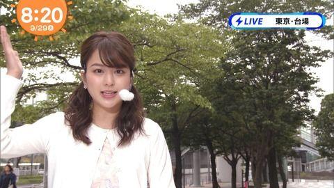 めざましどようびお天気キャスター沖田愛加さん(21)、テレビ出演時と大学に行く格好が違いすぎ