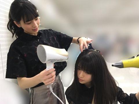 【乃木坂46】齋藤飛鳥『お母さん、メイクさん以外に初めて乾かしてもらった・・・』