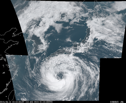 【悲報】台風さん、ここにきてパワーアップ中