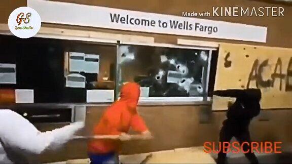 【BLM運動】黒人様、差別をなくすために集団で銀行強盗を始めるwwwwwwwwwwww