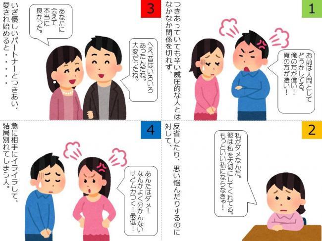【画像】なぜDQNがモテて優しい人がモテないのかを解説した漫画が話題に
