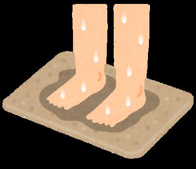 珪藻土バスマットって無限に水吸うけど、海に沈めたらどうなってしまうんや……?
