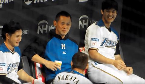 中田翔(27)『大谷翔平のことは本当に嫌いだった。オレよりホームラン打ちそうだったから。』←小物