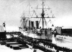 日本海海戦で沈んだロシア軍艦、韓国企業が発見 大量の金貨があるかもしれない