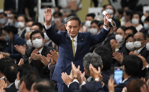 【自民党総裁選】国民に大人気なはずの石破茂さん、地方票でもボロ負けし3位のドベでフィニッシュ…菅内閣誕生