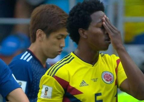 【W杯】日本戦でやらかしたコロンビア選手の現在…警察動く…
