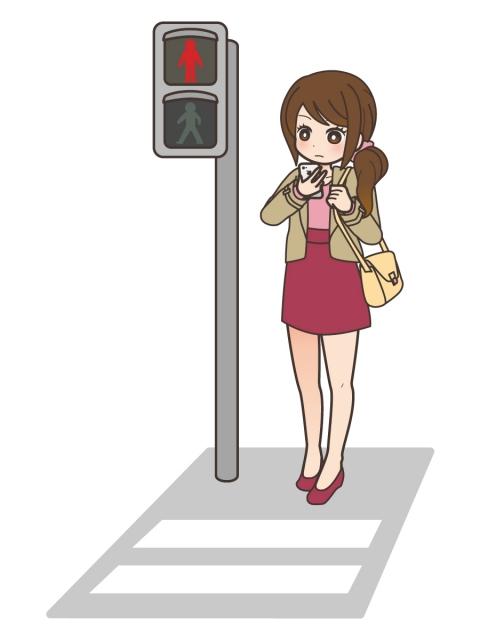 (ヽ´ん`)「着飾ってる女が人前で信号無視」