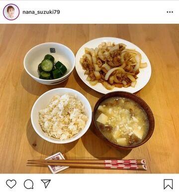 鈴木奈々さんが作った昼飯がウマそうwwwwww
