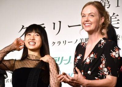 【画像】土屋太鳳、観月ありさら4人が美脚大賞で受賞