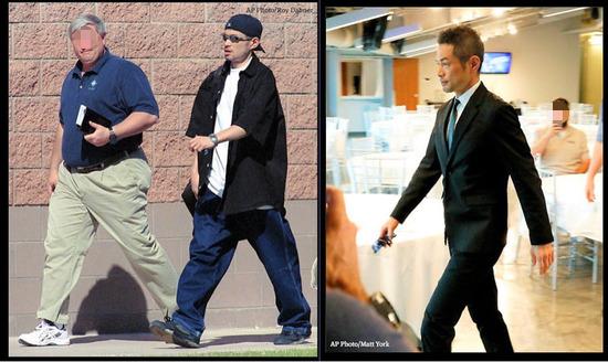 【画像】渡米した頃のイチローと現在のイチローを比較した結果wwww