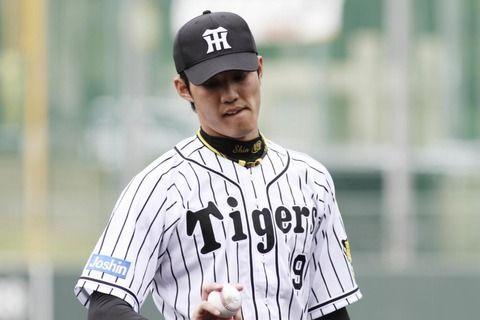 藤浪晋太郎さん、3.1回87球4安打5三振5四死球2失策6失点のピッチングを披露