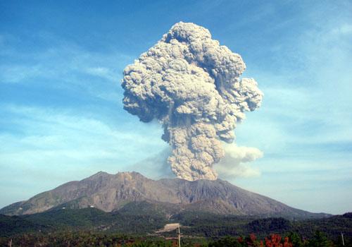 桜島ヤバい   噴火警戒レベル3