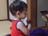 まだしゃべれない1歳児の日課がスゴい