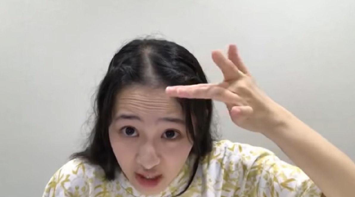乃木坂46向井葉月「眉間にシワを寄せて1番上のシワよりも上に髪が生えてた場合、そこの部分はハゲです!」