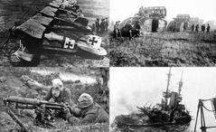 WW1イギリス軍「塹壕下から爆弾でぶっ飛ばしたろ!」ドーン
