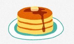 【悲報】菅官房長官、3000円のパンケーキを食べてしまう