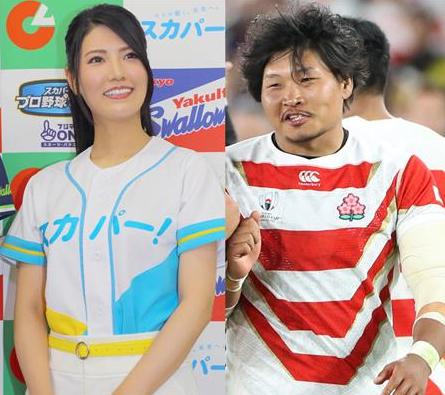 【笑わない男】ラグビー日本代表・稲垣啓太さん元AKBメンバーとの恋愛が発覚