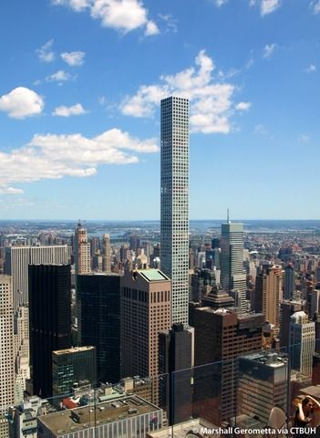 【画像】ニューヨークにある世界一高いマンションがこちらwwwwwww