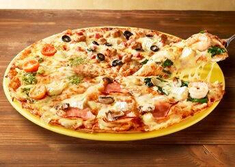 【衝撃】ドミノピザでチーズをトッピングしまくった結果wwwこうなるぞwwwww(画像あり)