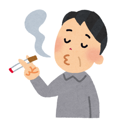 喫煙所撤去 → ポイ捨て激増し出入り口が喫煙者のたまり場に→喫煙所再設置