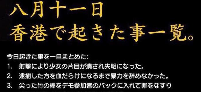 「逮捕は覚悟」香港のデモ参加者から8月11日に起きたことの説明が