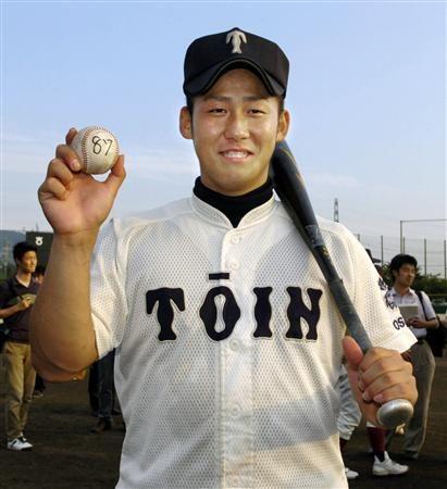 中田翔 高校通算87本塁打 ←めちゃくちゃ打ってて草