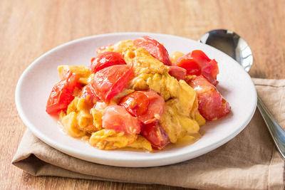 中国人:卵とトマト一緒に炒めたろ!