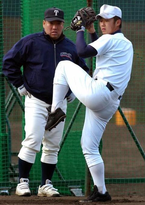 大阪桐蔭監督「中田翔はいいやつだった。高校時代後輩もいじめたりもしなかった」