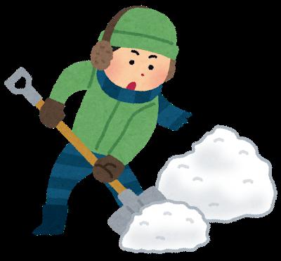 【悲報】ワイ道民、雪かきで体を壊した結果wwwwww
