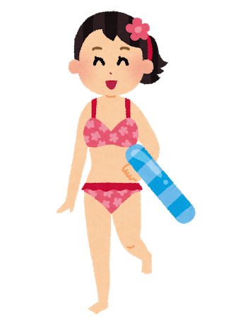 最近の水着「体型隠す 露出減らす」