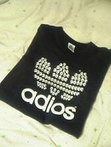 adiosTシャツ