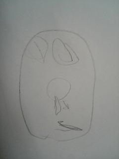 甥っ子3才の絵