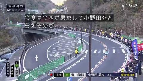 箱根駅伝 2018 6区