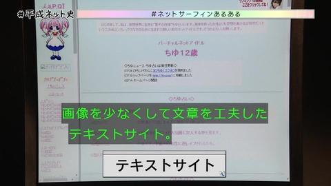 「平成ネット史」画像 「ちゆ12歳」