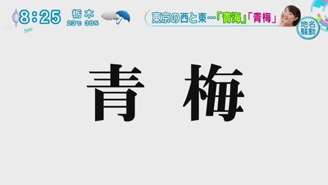 青海 青梅 紛らわしい地名 アイドル 遅刻 (18)